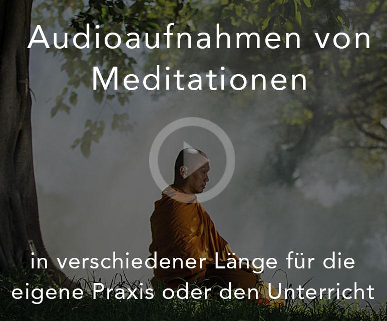 Audioaufnahmen von Meditationen